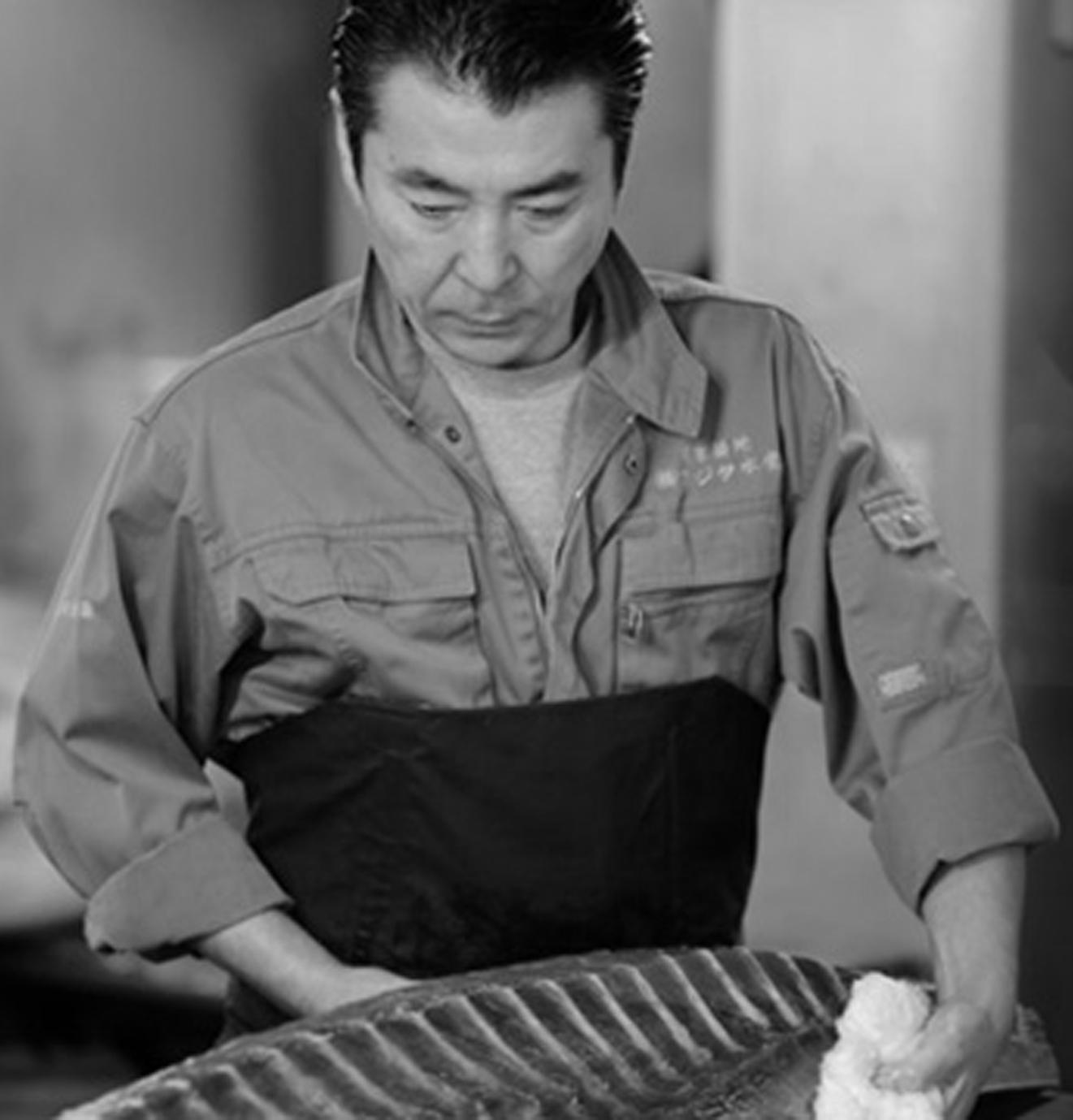 豊洲 鮪仲買人 藤田 浩毅